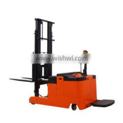 China New Condition Counterbalanced Stacker Forklift Truck