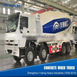 YUTONG 8 Cubic Meters Concrete Truck For Sale With Preferential Price