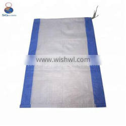 China wholesale white woven pp 50kg bags for salt