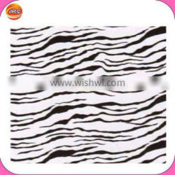 Fashion custom square zebra stripe white bandanas