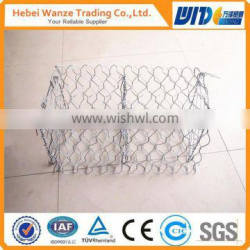 electric galvanized gabion box/galvanized gabion box/factory