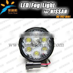 Waterproof IP67 Auto Fog Light High Performance Led Fog Light For N ISSAN For TIIDA For X- TRAIL