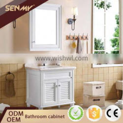 Made In China Bathroom Vanity Solid Wood