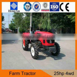 New model 25hp mini tractor with 3 cylinder engine