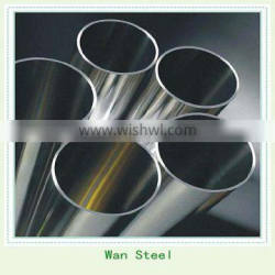 stainless steel pipe with 400 grit finish