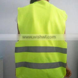 Traffic safety Road warning vest with mesh