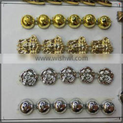 2016 New Model Decorative Gold Chain.ABS Plastic Chain For Clothes And Shoes.new gold chain design girls