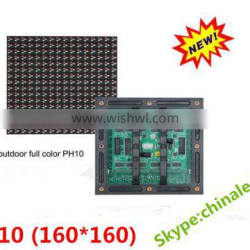 Water-proof outdoor rgb led display panel P10 led dispaly module