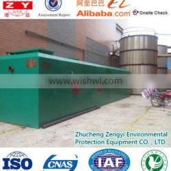 China design and export customized underground sanitary waste water treatment equipment