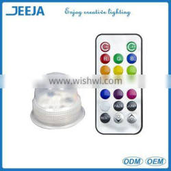 IP68 waterproof battery powered led decoration vases acorn light for wedding centerpieces