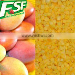 Best Price of IQF/frozen mango cubes 2016 china new crop