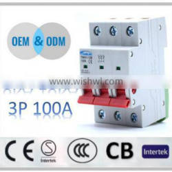 low price and high quality 125a isolator switch isolator