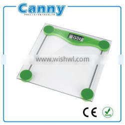 Factory lowest price Electronic bathroom scale, digital scale for bathroom, Green color