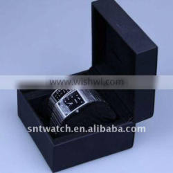 high qualtity leather watch box, for couple watch/single watch