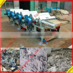 High efficiency waste cotton recycling machine
