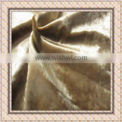 100% polyester plain velvet fabric for sofa,curtain,upholstery