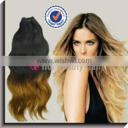 2013 Ombre 24 inch Brazilian 27/613# Color Hair Extension