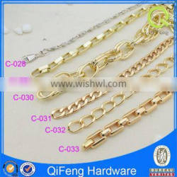 metal gold chains for hadbags fittings and accessory alibaba china