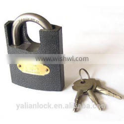 Factory price Plastic Painted Half Wrapped Beam Padlock