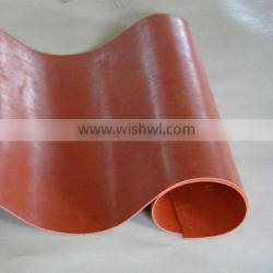 temperature resistance double-sided silicone coating glass fabric with high voltage