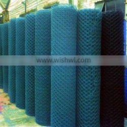 PVC treated Hexagonal Wire Mesh(factory)