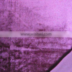 high velour(two-way stretch) velvet fabric