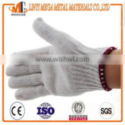 7 guage 10 guage safety cotton knitted working gloves