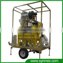 mobile paddy seed processing plant