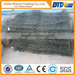 gabion stone cage box / gabion mesh box / hot dipped galvanized gabion box