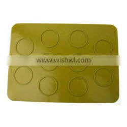 100% Food Grade Silicone Cake Mould , Silicone Macaron Mould Kit And Silicone Baking mat