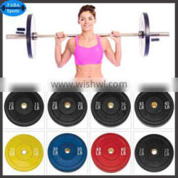 Olympic barbell plates