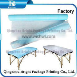 Antibacterial Disposable Bed Paper Couch Cover Sheets Roll for Hospital, Disposable Couch Cover Roll used in Medical centres