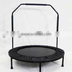 40inch fold trampoline with handle bar