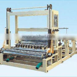 toilet paper roll sillting and rewinding machine