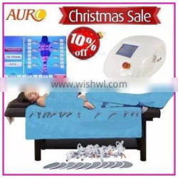 Au-6809 2017 trending products air pressure infrared machine with electro muscle sitmulator