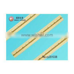 brass small yellow color furniture hinges
