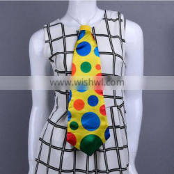 Fun Jumbo Tie party Clown Necktie