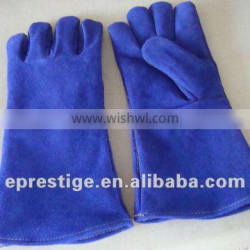 "CE certified 14"" leather welding gloves"