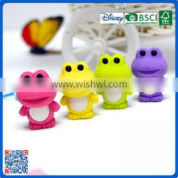 2016 Eco-friendly 3D shape colorful erasers