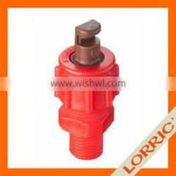 Plastic Small Flow Rate Wide Angle Flat Fan Spray Nozzle