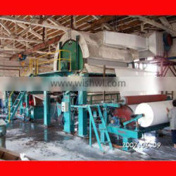 Whole Toilet Paper Making Production Line/Paper Making Machine/Pulp Making Machine