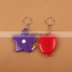 lose weight tape measure key chain