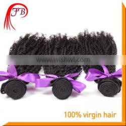 2015 Best selling virgin remy hair extension,no tangle no shed persian kinky curl human hair