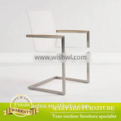 Modern stainless steel dining chair MY81-F