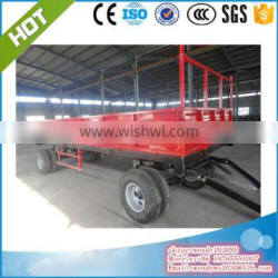 12T farm tipping trailer with right and left dump.