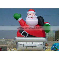 christmas advertising giant inflatable santa claus for sale