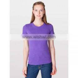 ladies t shirt 2016/ tops 100% cotton /high quality women tshirt