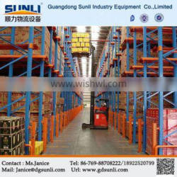 China Manufacturer Direct Supply Warehouse Drive In Pallet Van Shelving