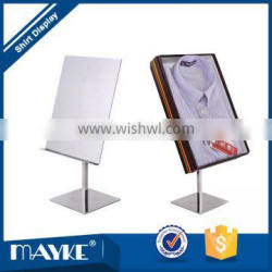 Excellent Glossy Metal Shirt display stand for Clothes Store
