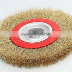 "crimped 5"" wheel wire brush"